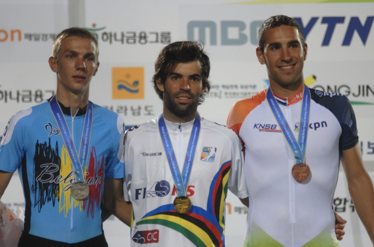 2011 mondial podium 10 kms pts